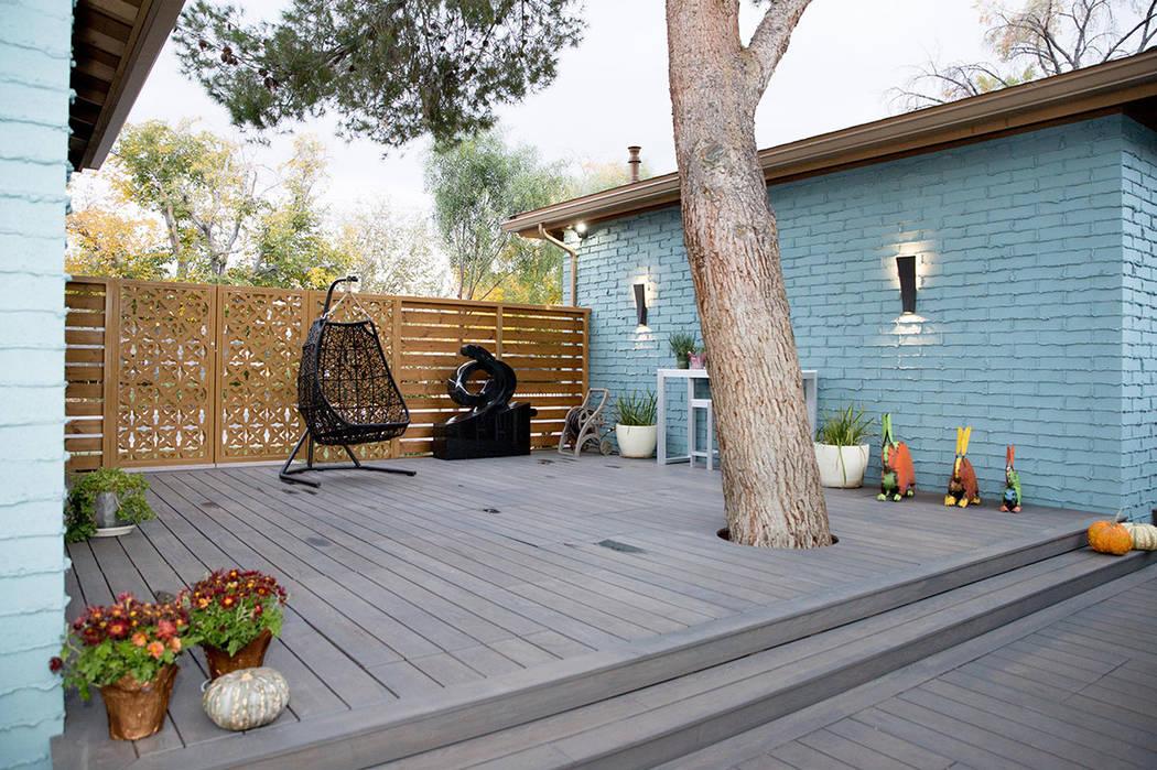 The deck. (Tonya Harvey Real Estate Millions)