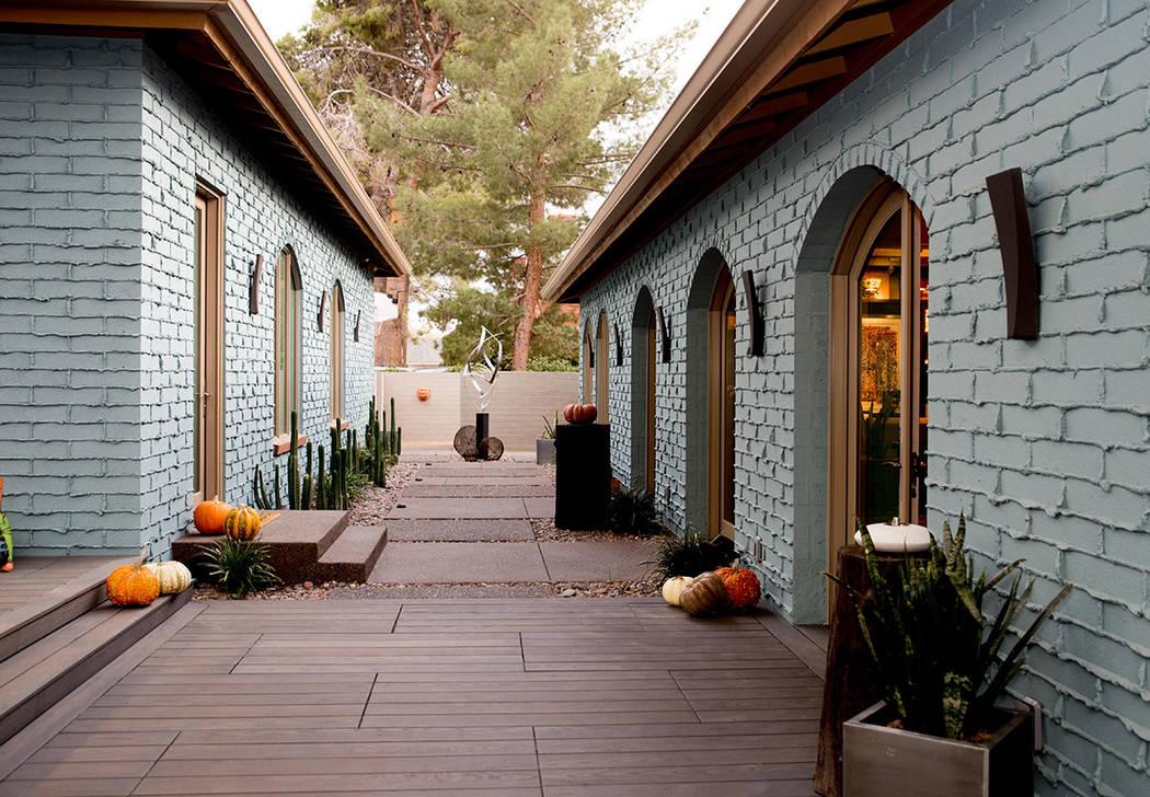 Tonya Harvey Real Estate Millions Architects John Klai and Jon Sparer designed this walkway in ...