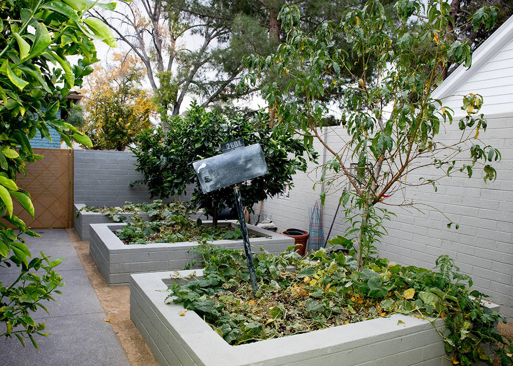 The men kept the mail box as a decoration for their garden beds. (Tonya Harvey Real Estate Mil ...