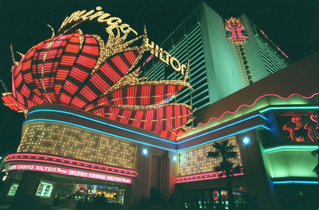This November 1995 photo shows Flamingo Hilton in Las Vegas. (Las Vegas Review-Journal)