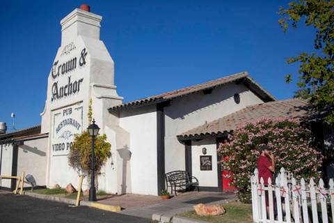 Crown and Anchor (Elizabeth Page Brumley/Las Vegas Review-Journal) @EliPagePhoto