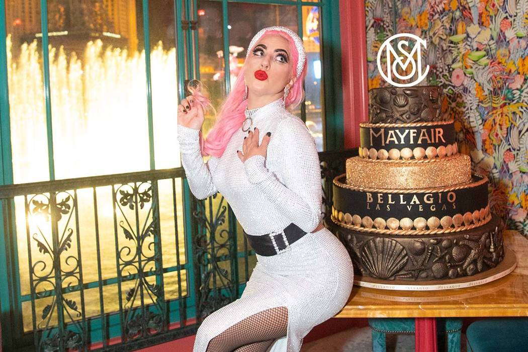 Lady Gaga at Mayfair Supper Club on Friday, Dec. 27, 2019. (Tony Tran)