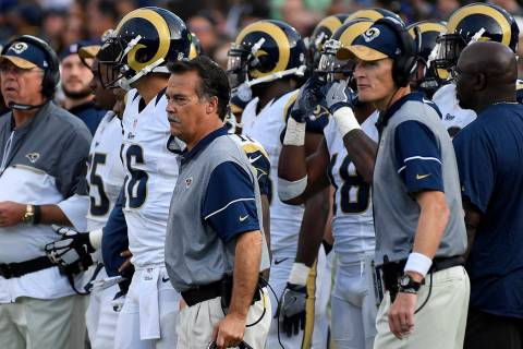 Los Angeles Rams head coach Jeff Fisher. (Mark J. Terrill/AP)