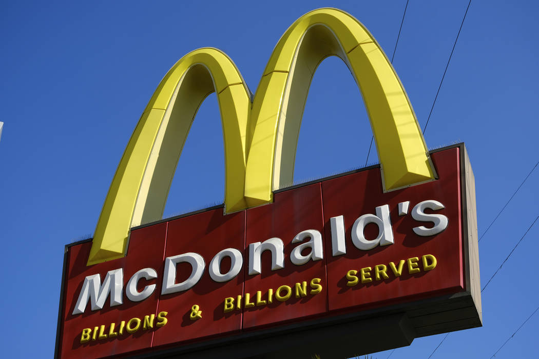 McDonald's is disputing allegations that one of the restaurant's workers wrote an expletive ...