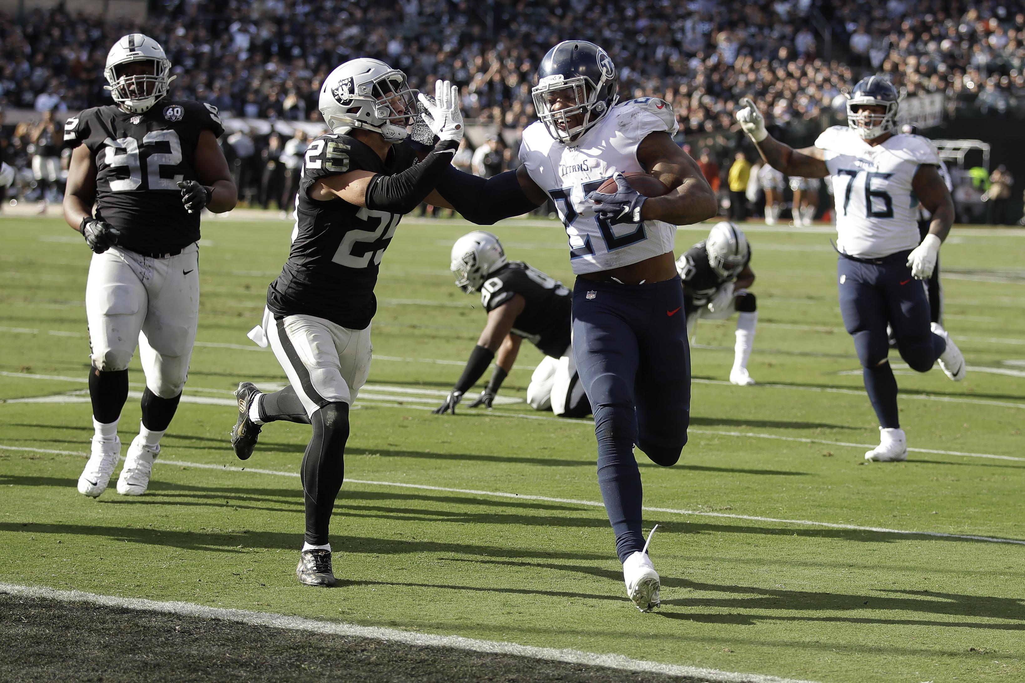 Grading the Raiders loss to Titans