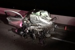 1 of 2 killed in 'catastrophic' wrong-way crash ID'd by coroner