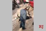 Cowboys help Las Vegas police nab carjacking suspect