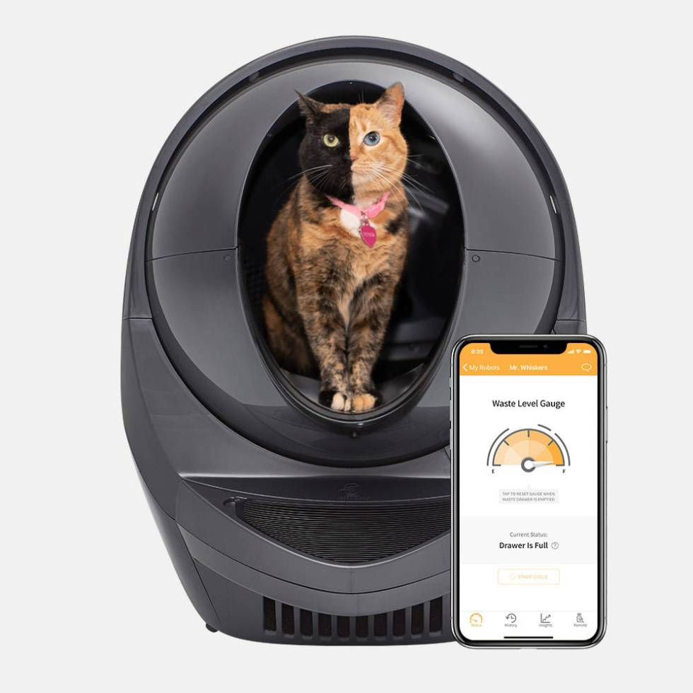 The Litter-Robot is a self-cleaning litter box that separates waste from clean litter. (Courtes ...