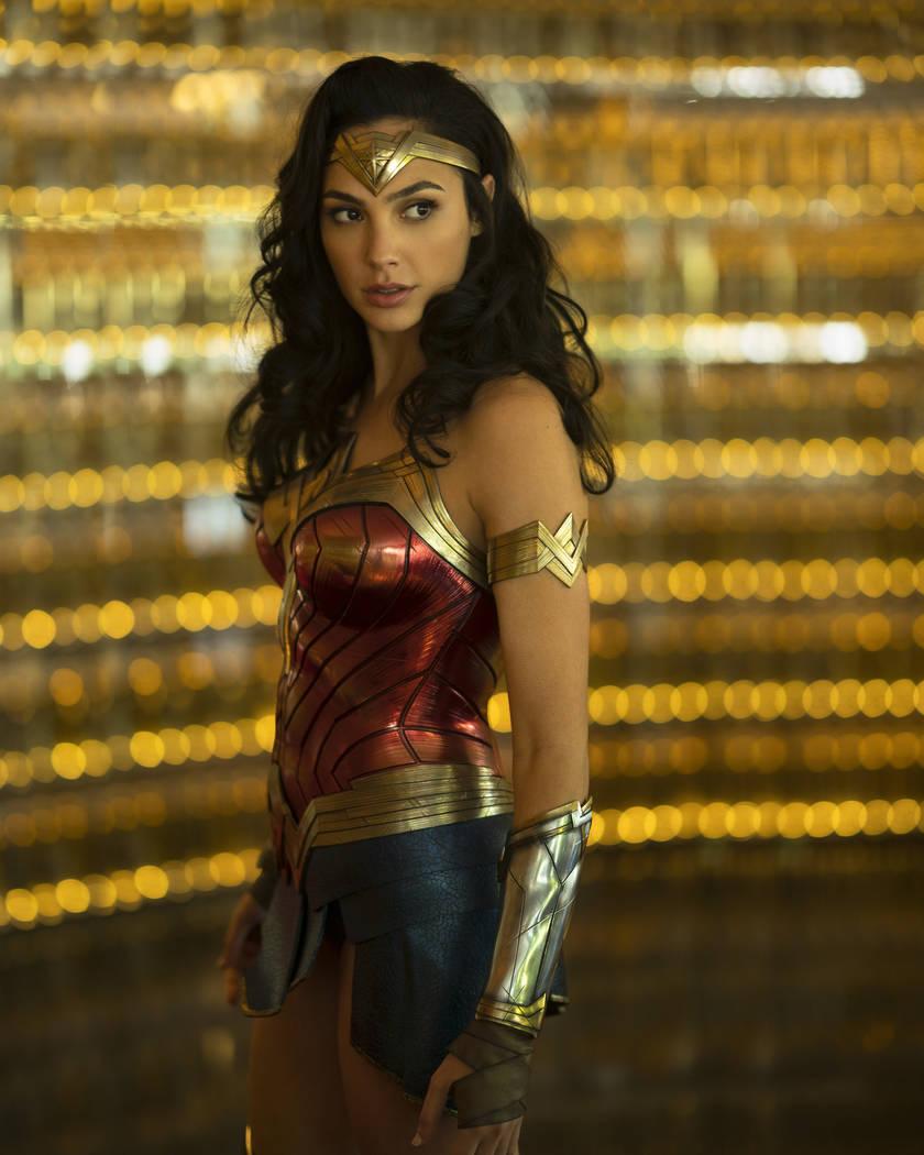 "Gal Gadot as Wonder Woman in the action adventure ""Wonder Woman 1984. (Clay Enos/DC Comics)"