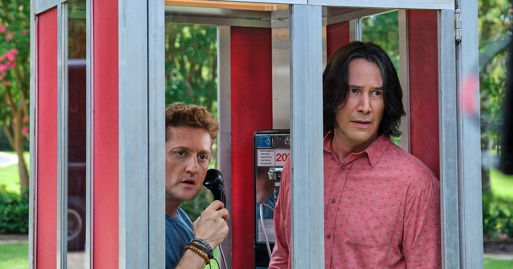"""Alex Winter and Keanu Reeves star in""""Bill & Ted Face the Music."""" (Orion Pictures)"""