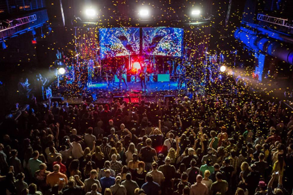 Brooklyn Bowl Las Vegas at The Linq in Las Vegas on April 28, 2015. (Erik Kabik/Las Vegas Revie ...