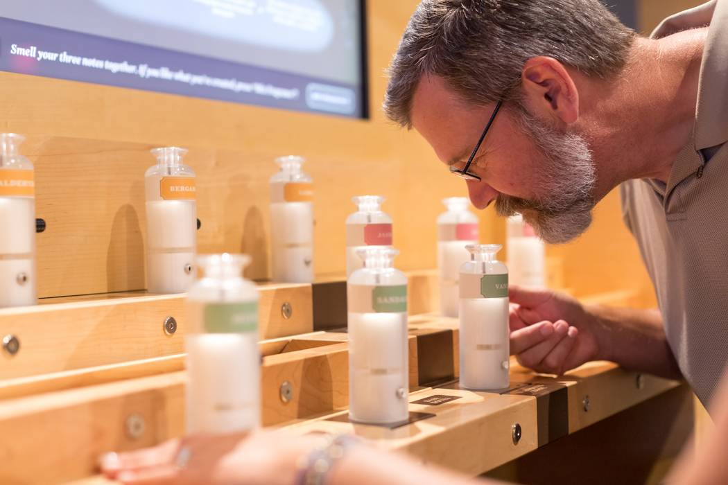 """""""Making Scents: The Art and Passion of Fragrance"""" at the Springs Preserve (Taylor Clark Johnson)."""