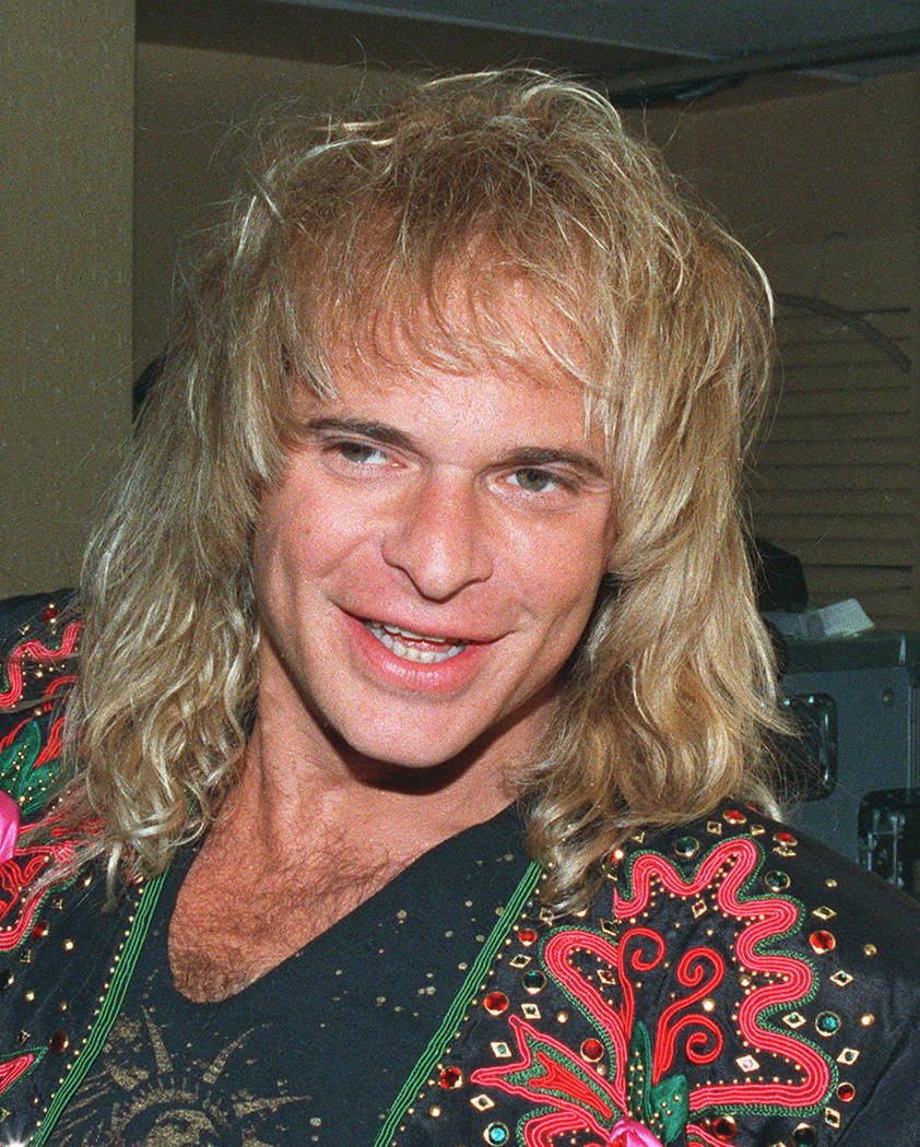David Lee Roth is shown in this 1988 file photo. (AP Photo/file)