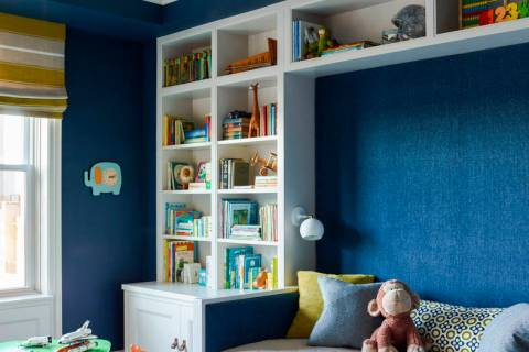 Storage is an important piece in planning spaces with kids in mind. Drawers, shelves and cubbie ...