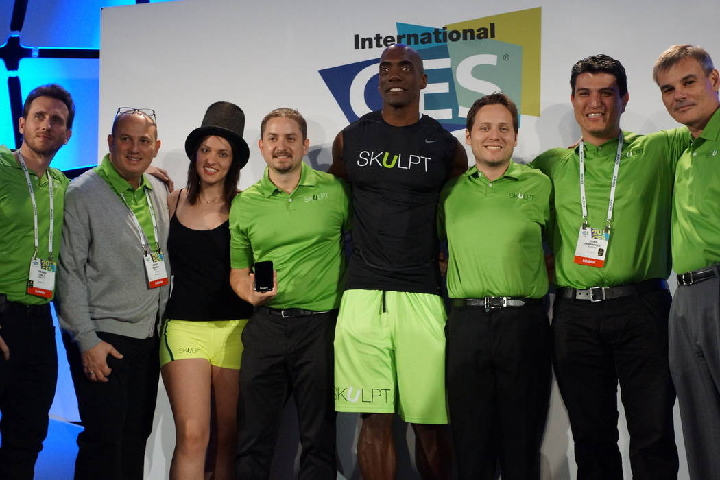 Online voters chose the Skulpt handheld fitness monitor as Last Gadget Standing winner in 2014. ...