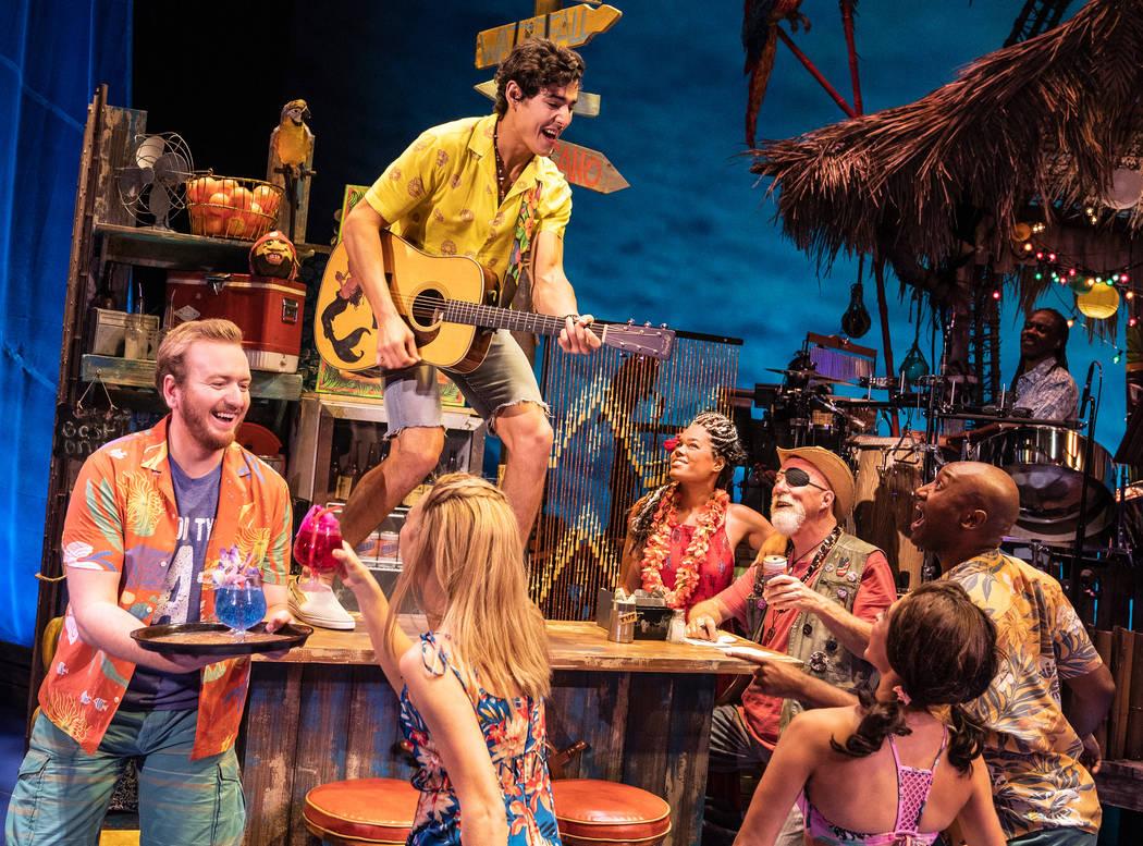"""""""Escape to Margaritaville"""" runs Tuesday through Jan. 12 at The Smith Center. (Matthew ..."""