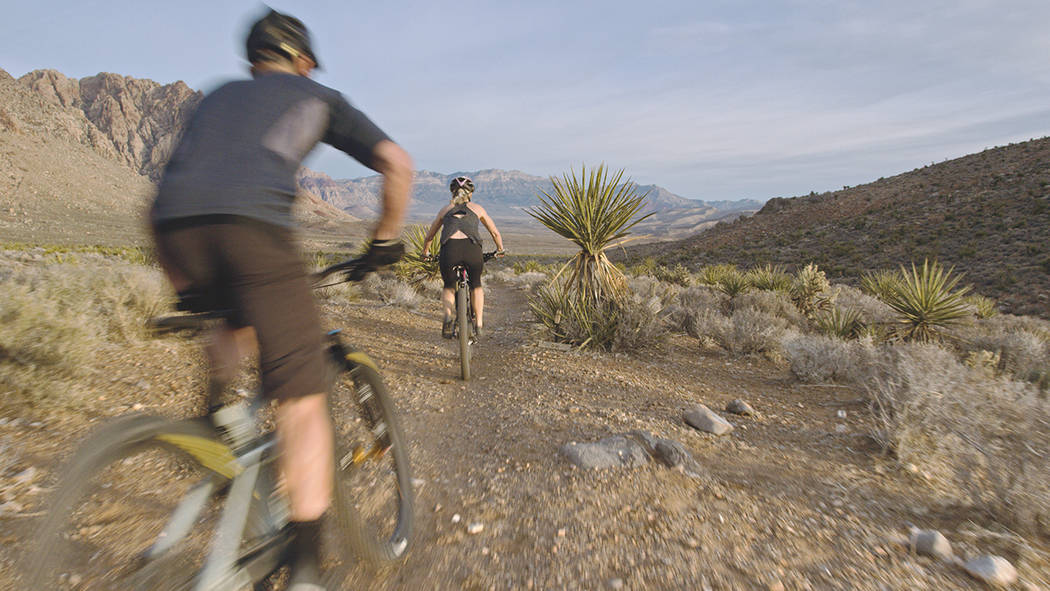 The national Red Rock Canyon National Conservation Area is close to Summerlin. (Summerlin)