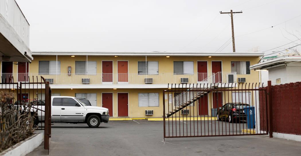 The Starlite Motel in North Las Vegas on Monday, Dec. 23, 2019. Elizabeth Page Brumley/Las Vega ...