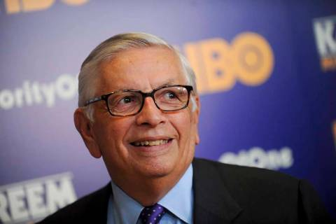 """Former NBA Commissioner David Stern attends the """"Kareem: Minority Of One"""" New York Premiere at ..."""