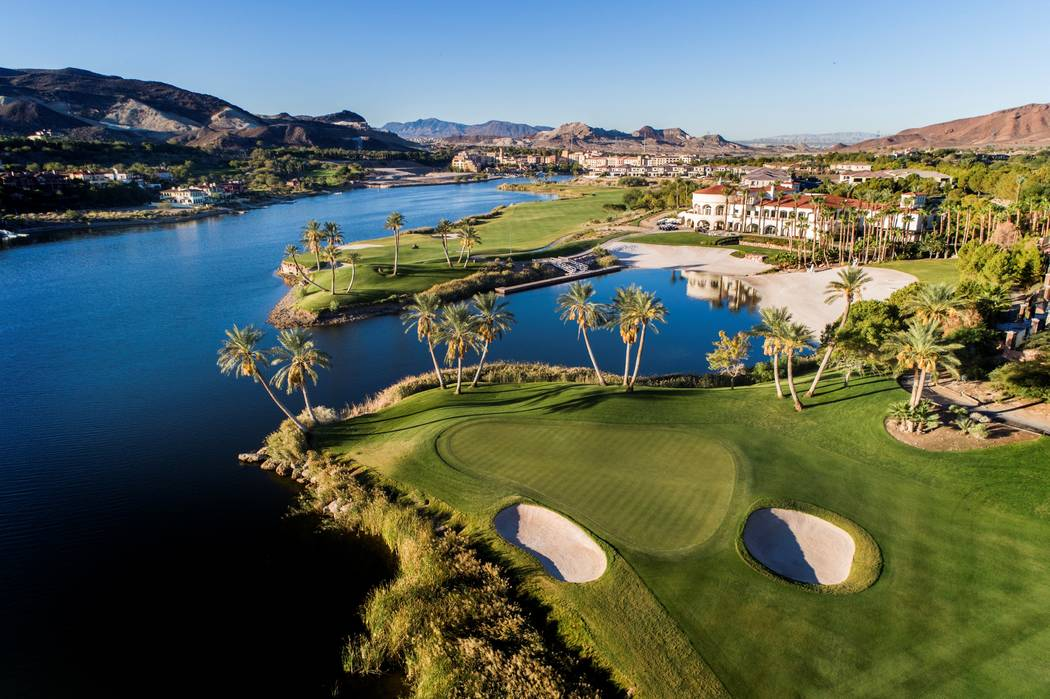 Reflection Bay Golf Club was designed by Jack Nicklaus. (Lake Las Vegas)