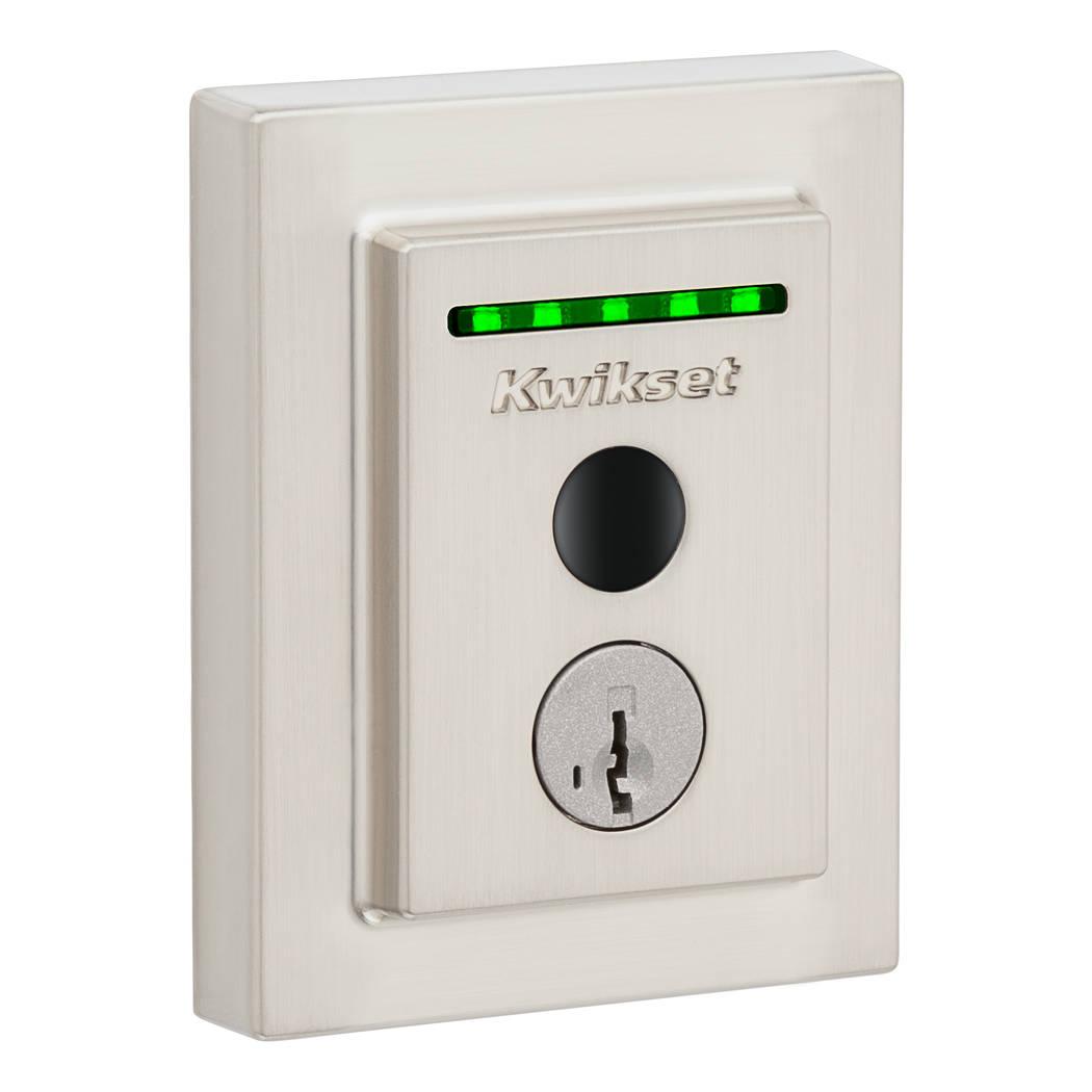 Halo Touch Wi-Fi smart lock by Kwikset operates by fingerprints. (Kwikset)