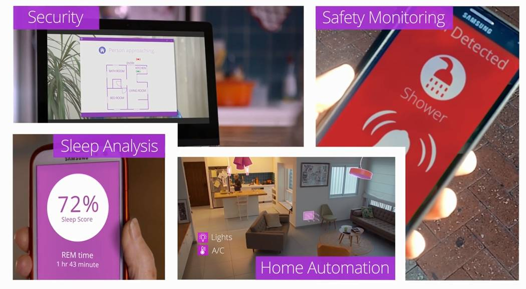 Vayyar HOME is a sensor-based system that monitors occupants' health and safety without a camer ...