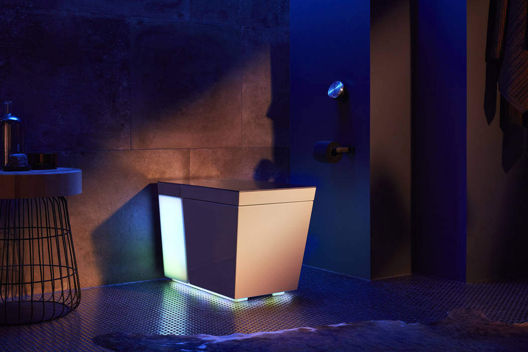 Kohler's Numi 2.0 intelligent toilet offers an embedded Amazon Alexa. (Kohler Co.)
