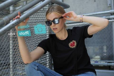 Norm Glasses offer smart phone capabilities in either eyeglasses or sunglasses. (Norm Glasses)