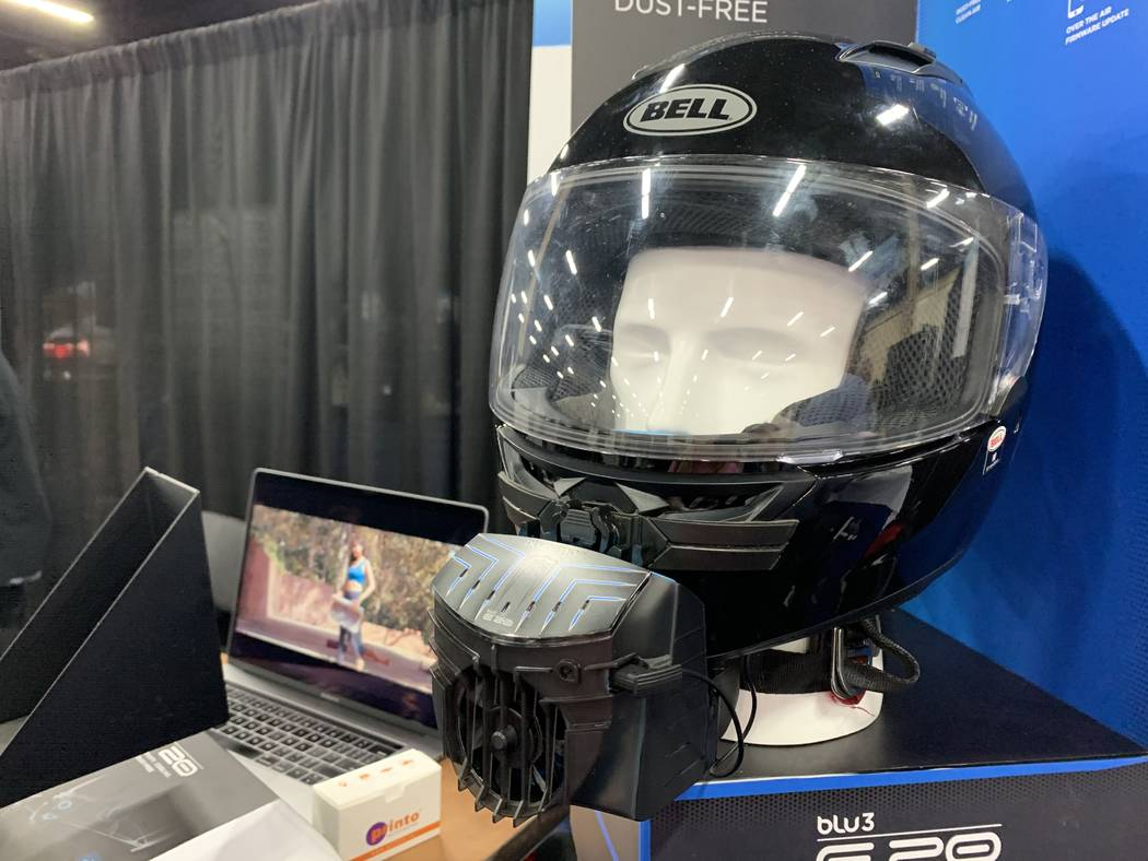 BluArmor was designed to bring car-like comfort to motorcyclists, according to spokesman Arvind ...