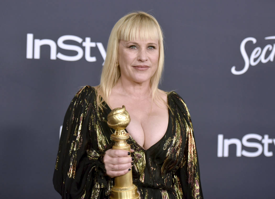 Patricia Arquette, winner of the award for best performance by an actress in a supporting role ...