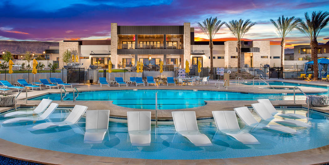 The 9,600-square-foot Outlook Club opened in Trilogy in Summerlin, an age-qualified community. ...