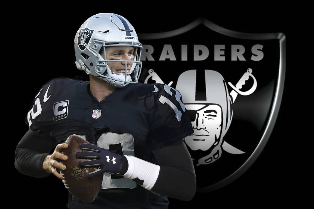 Tom Brady would fit with the Las Vegas Raiders. (Wes Rand)