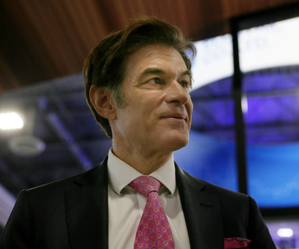 Dr. Oz discusses new trends in Sleep Tech during the first day of CES 2020 at the Sands Expo on ...