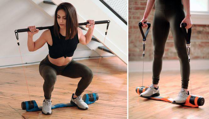 The MAXPRO All-in-one smart gym is billed as the world's most versatile full body portable fi ...