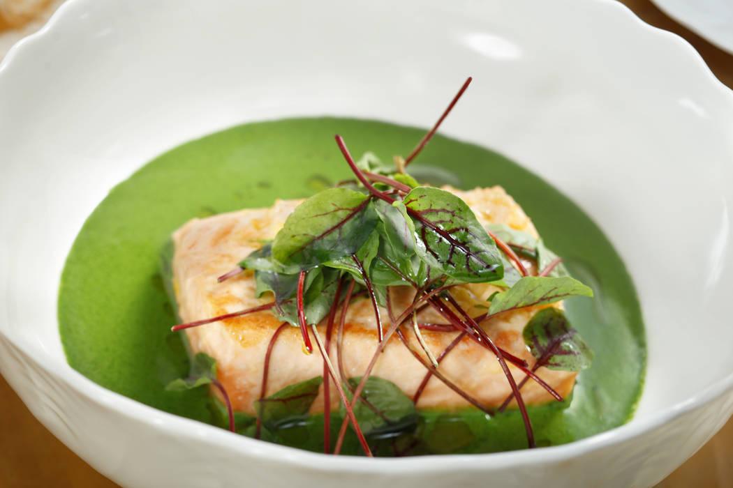 Bellagio-Mayfair Supper Club Ora King Salmon (MGM Resorts International)