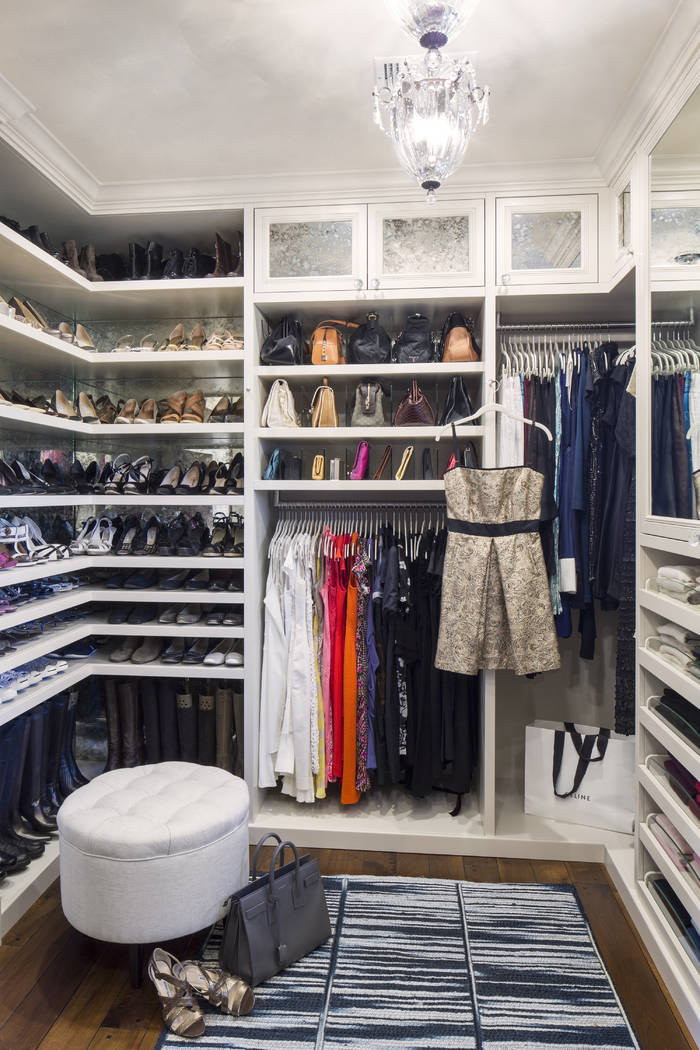 Shelving might be the most efficient solution for closet corners. Additional shelving can be us ...