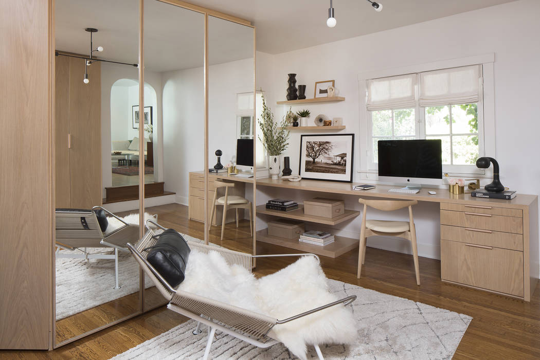 Adding a workspace to a dressing room or converting an entire room to create a flexible space f ...