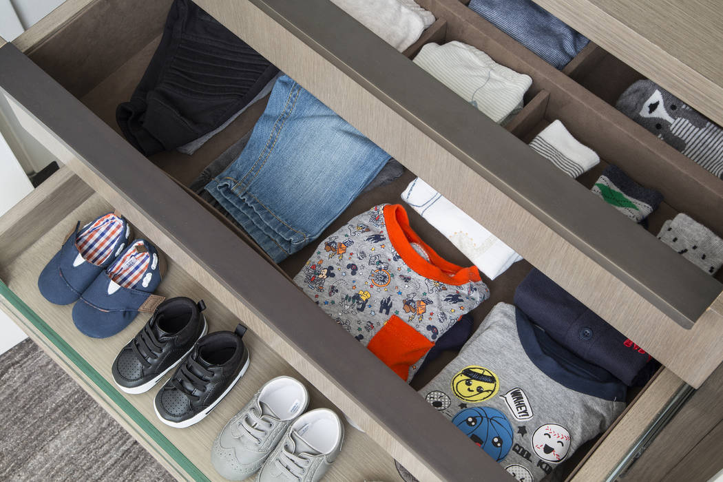 Drawers make more sense in children's closets. If they cannot reach their hanging rod or don' ...