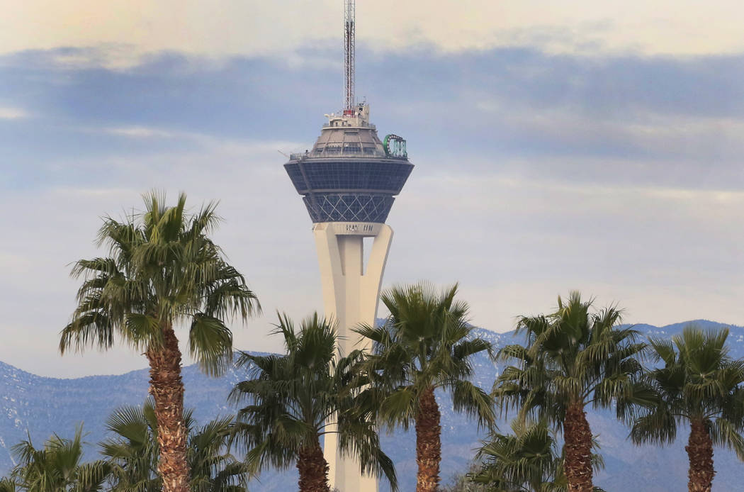 Tuesday, Jan. 7, 2020, will see the Las Vegas sky turning more cloudy as the day progresses. Th ...