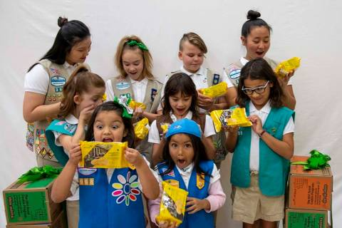 Local Girls Scouts have a brand new cookie to sell. (Girl Scouts of Southern Nevada)