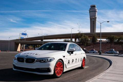 Aptiv's autonomous vehicle program can now transport select passengers to and from McCar ...
