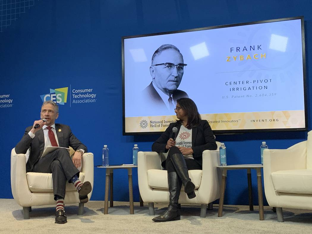 Andrei Iancu and Rini Paiva induct historical figures into the National Inventors Hall of Fame ...