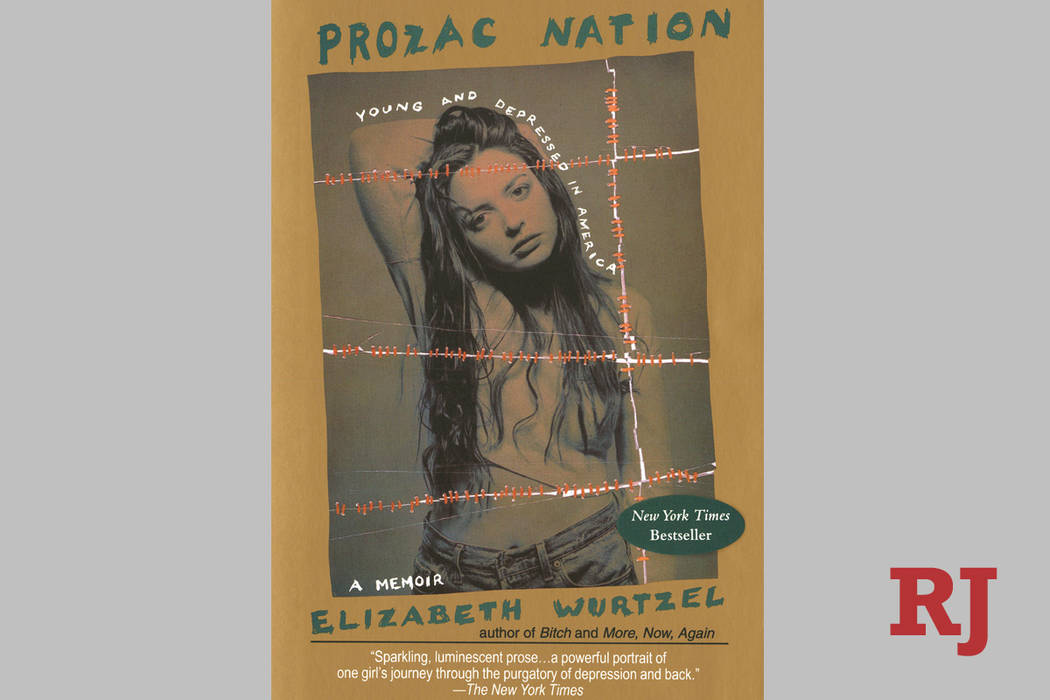 This undated photo provided by Penguin Random House shows the book cover of Elizabeth Wurtzel's ...