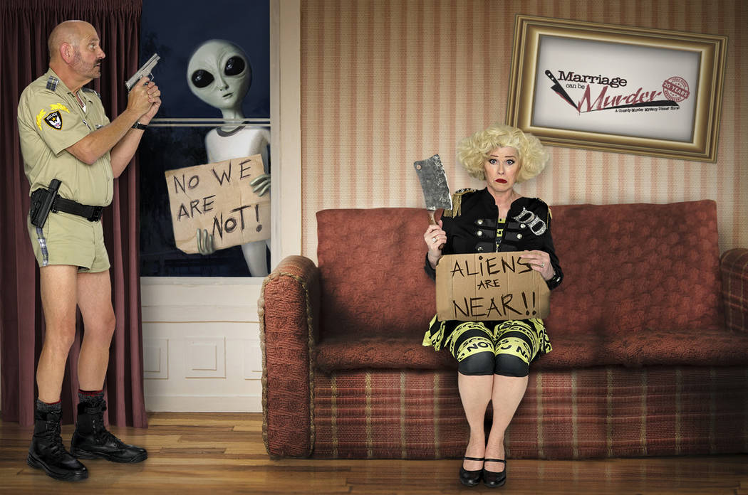"""Marriage Can Be Murder"" has performed its last show at The Showroom at the D Las Vegas. (Ivory ..."