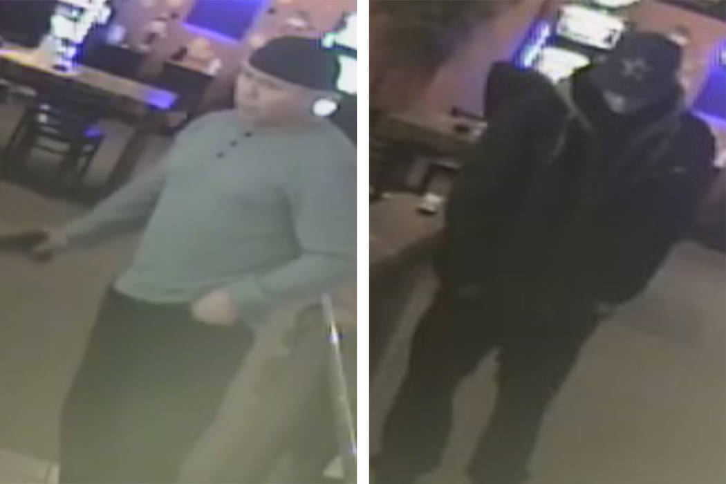 Police are seeking two men in connection to an armed robbery Tuesday, Oct. 1, 2019, on the 4400 ...