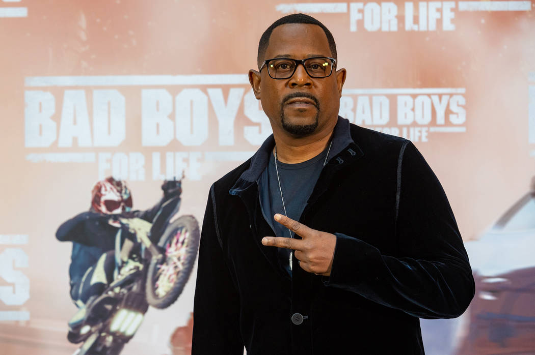 """Martin Lawrence attends the Madrid photo call for """"Bad Boys for Life"""" in Madrid. (Sony Pictures)"""