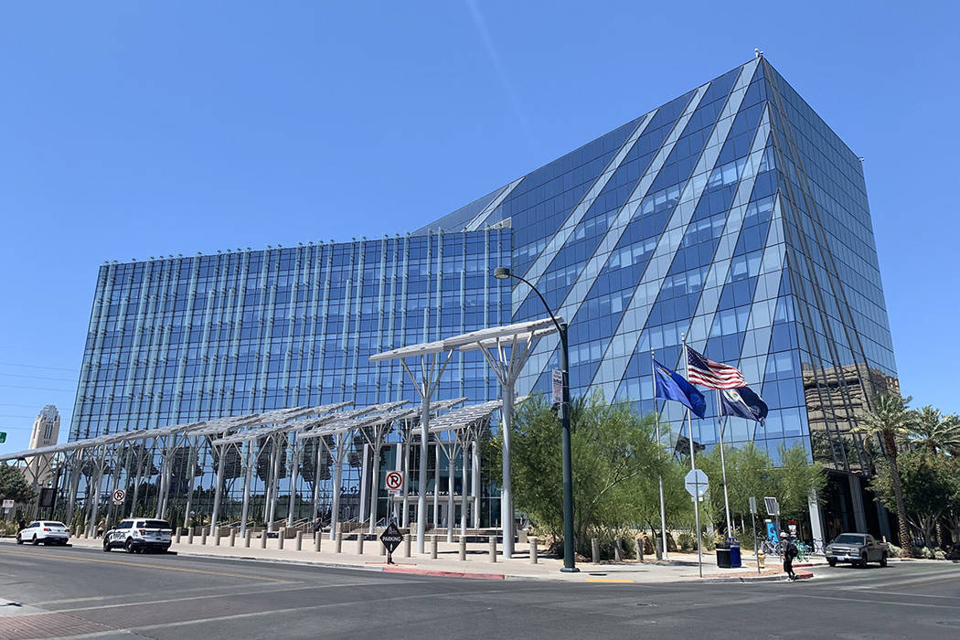 Las Vegas City Hall (Las Vegas Review-Journal/File)