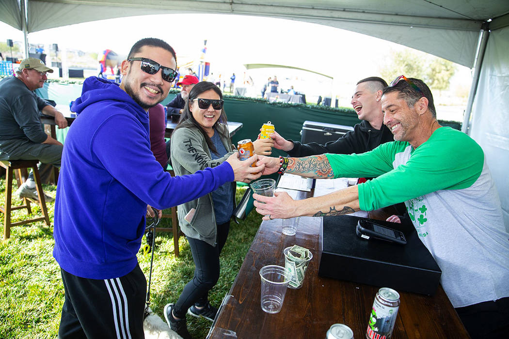 The Cadence event featured a beer garden for the adults. (Studio J. Inc./Eric Jamison)