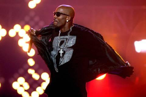 DMX performs during the BET Hip Hop Awards Saturday, Oct. 1, 2011 in Atlanta. (AP Photo/David G ...