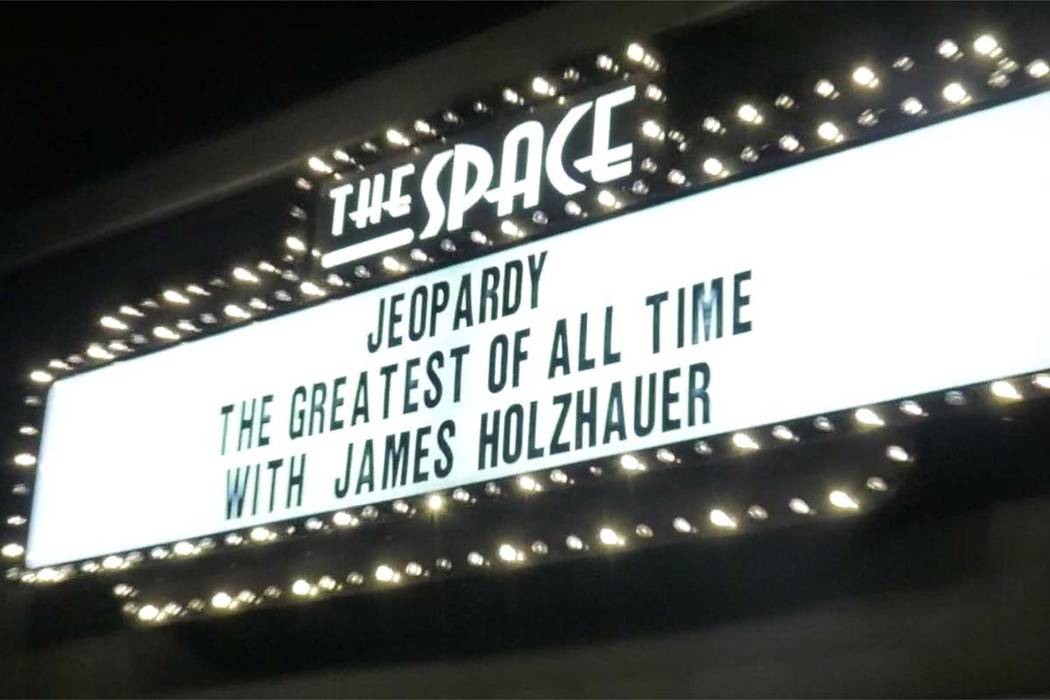 """James Holzhauer held a watch party for the """"Jeopardy!TheGreatestof&#xa ..."""